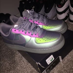 Air Force 1s with box// Worn twice